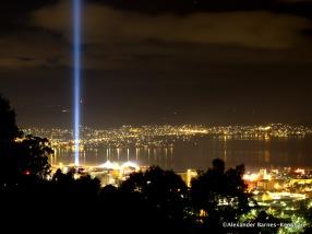 Spectra Over Hobart (2015) Tasmania, Australia