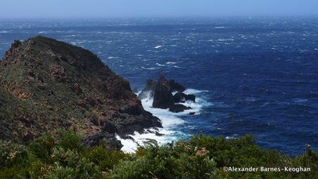 Diagonal Verticals (2017) Bruny Island, Tasmania, Australia