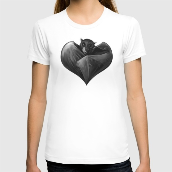 Heart Abat T-Shirt Society6